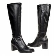 National Wide Shaft Boots (Black) - Women's Boots