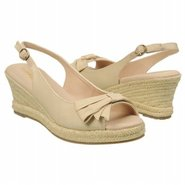 Brie Sandals (Natural Twill Fabric) - Women's Sand