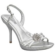 Bermuda Shoes (Silver Metallic) - Women&#39;s Shoes - 