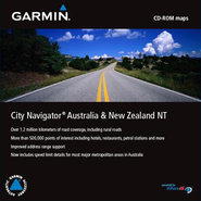 MapSource City Navigator Australia & New Zealand N