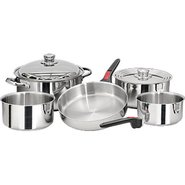 Nesting 10 Piece S.S. Cookware Set