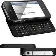 Minikey iPhone 4/4S Case w/Bluetooth Keyboard