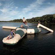 Rave Aqua Jump 200 Northwoods w/ Launch &amp; Log