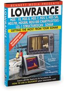 Bennett Training DVD for Lowrance HDS10,HDS8,HDS7,