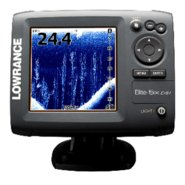Elite-5X DSI Color Fishfinder w/ Transom Mt Transd