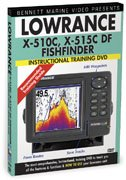 Lowrance X510C &amp; X515C DF Instructional DVD by Ben