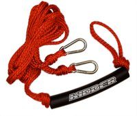 9' Kidder Ski Rope Bridle - 2500# Tensile - Red