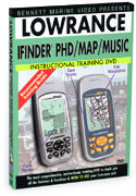 Lowrance iFinder PhD/M&M Instructional DVD by Benn