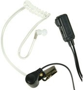 Midland AVP-H3 FBI Style Ear Bud/Microphone w/ Tra