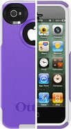 Commuter Series for iPhone 4/4S - Viola Purple/Whi