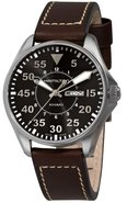KHAKI AVIATION PILOT MENS WATCH H64611535