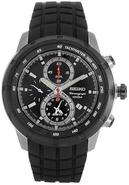 Mens Watch Chronograph Rubber Strap SNAD95