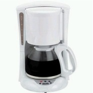 TS218 -12-Cup Digital Coffeemaker White