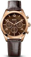 Rose Gold Leather Chronograph Ladies Watch 1502311