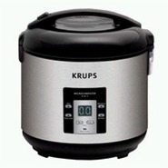 RK7011- Krups 4 in 1 Rice Cooker- 10 Cups