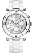 Collection GC Diver Chic White Ceramic Ladies Watc
