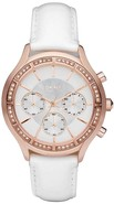 Rose Gold Chronograph   Ladies Watch NY8255