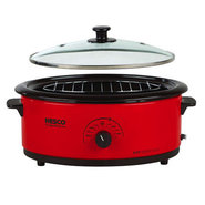 4816-12G  6-Quart Roaster Oven with Glass Lid, Por