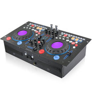 Technical Pro DMXP6 Rackmountable Double Cd Mixer 