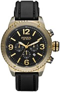 Chronograph Silicone   Vintaged Bronze Mens Watch