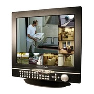 SLD281 17 Inch LCD CCTV Monitor with Built-In 8 Ch