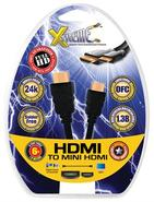 Mini-HDMI to HDMI Audio/Video Cable (6 feet)