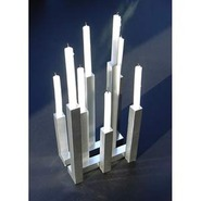 53004-0 George Schmidt CityLights 8 Piece Candle H