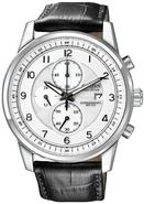 Eco-Drive Chronograph Leather Mens Watch CA0331-05