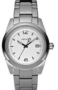 Stainless Steel Midsize   Watch NY4987