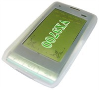Clear Silicone Skin Case For LG Dare VX9700