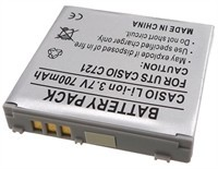 Lithium Battery For Verizon Casio EXILIM, Casio C7