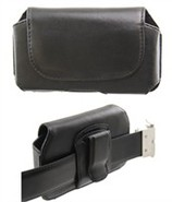 Leather Carrying Pouch Case For BlackBerry 8100, 8