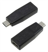 Mini USB To Micro USB Charger Adapter