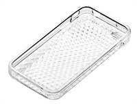 Clear Diamond Pattern TPU Skin Case For Apple iPho