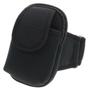 Black Universal Armband Case For Smartphone, iPod