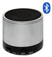 Silver Bluetooth Mini Speaker
