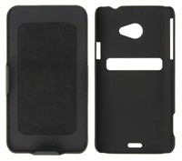 Shell Case With Holster - Polygon Pattern For HTC 