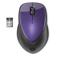 x4000 Wireless Mouse - Bright Purple with Laser Se