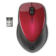 x4000 Wireless Mouse - Ruby Red with Laser Sensor