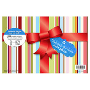 Free Holiday Gift Pack-10 sht/5 x 7 in with envelo