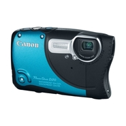 Canon PowerShot D20 12MP 5X Zoom Waterproof Digita