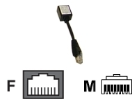 ML-Cyclades/Netra RJ45 cross converter (ADB0039)
