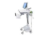 Ergotron StyleView EMR Cart with LCD Pivot, LiFe P