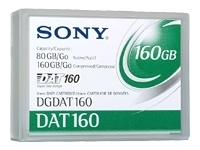 80 GB/160 GB DAT160 Data Cartridge - 1-Pack (DGDAT