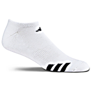 Cushioned 3-Stripes No Show Socks 3-Pack