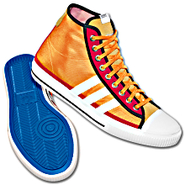 adiTennis 39 Hi Shoes
