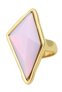 GlamRock Ring in Water Opal Rose Water Opal 5