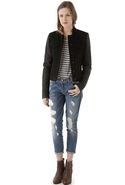 7 For All Mankind Josefina Skinny Boyfriend in Lum