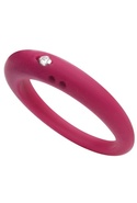 DUEPUNTI Diamond Ring in Fuschia - Fuchsia