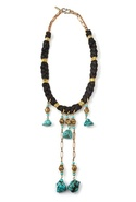 SALE-Vanessa Mooney Rebellion Necklace - Black